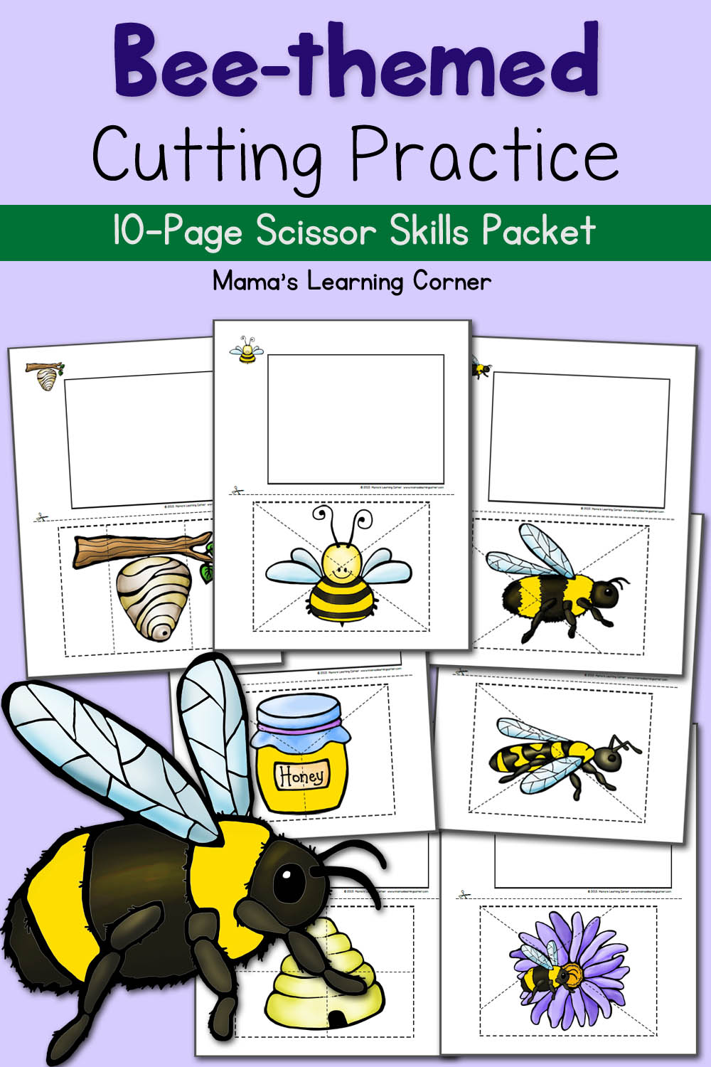 medium resolution of Bee Life Cycle Worksheets - Mamas Learning Corner