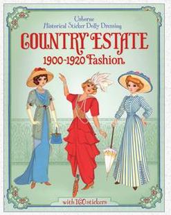 Country Estate 1900-1920s Fashion Sticker Book