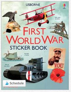 First World War Sticker Book