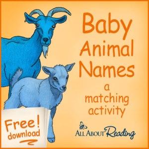 Baby Animal Names: Free Download