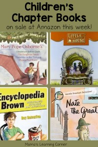 Chapter Books on Sale at Amazon – Perfect for Summertime Reading!