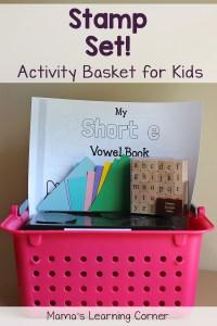 Activity Basket for Kids: Stamp Set!