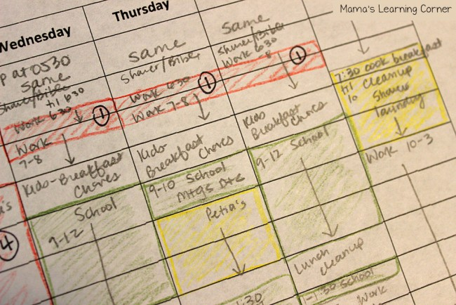 How to Find More Time In My Homeschool Day Schedule