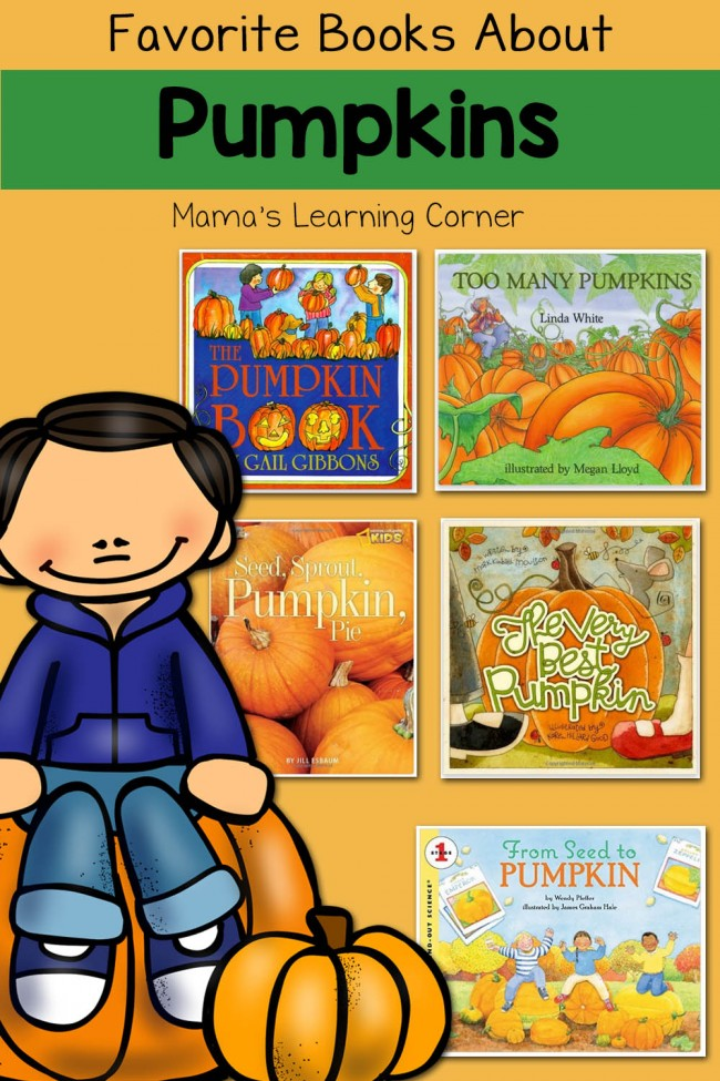 Our Favorite Books About Pumpkins