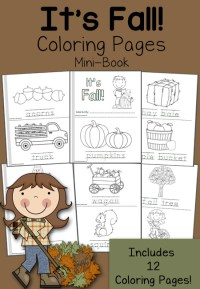 It's Fall! Coloring Pages