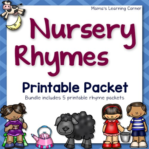 Nursery Rhyme Packet
