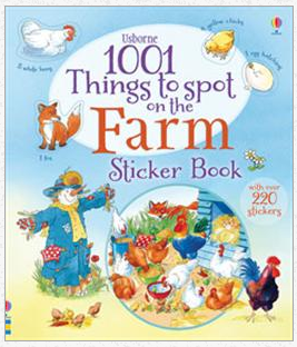 1001 Things to Spot on the Farm Sticker Book