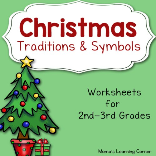 Christmas Worksheets for 2nd and 3rd Graders