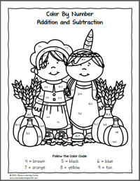 Thanksgiving Worksheet Packet for Kindergarten and First ...