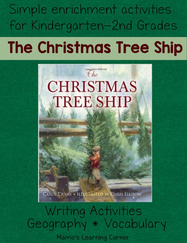 The Christmas Tree Ship: Book and Activities