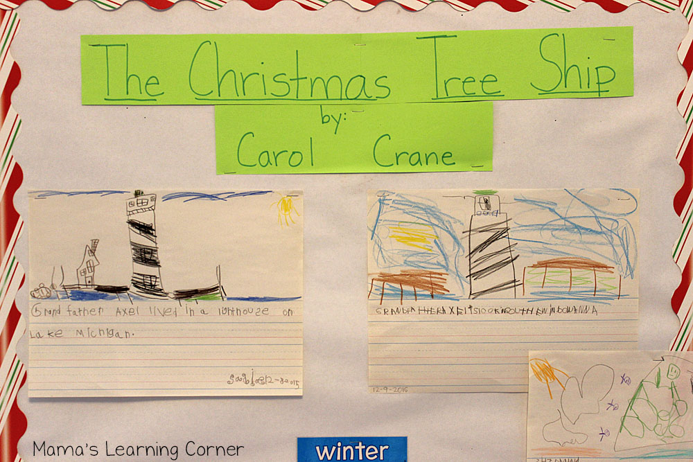 The Christmas Tree Ship: Bulletin Board
