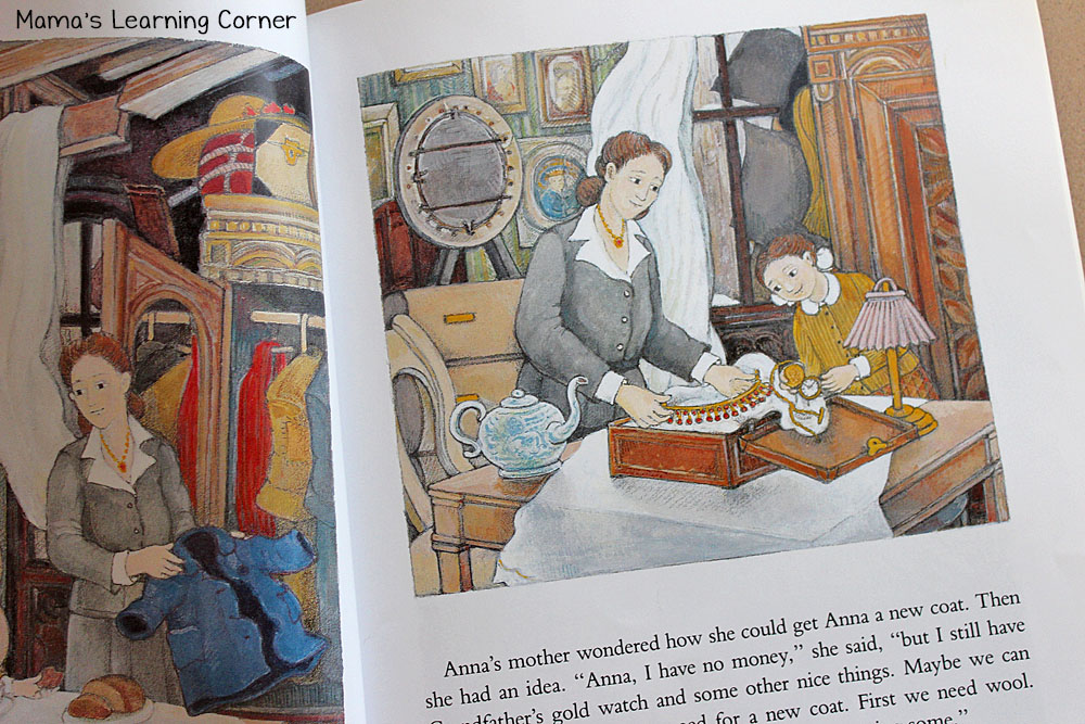 A New Coat for Anna Picture Book