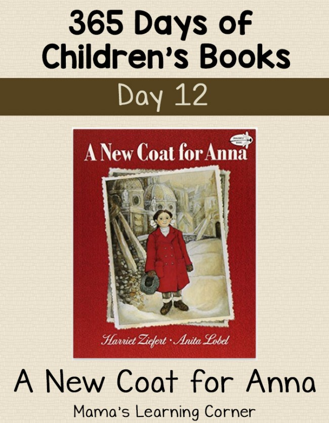 Children's Books - A New Coat for Anna