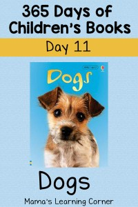 Dogs – Day 11 of 365 Days of Children's Books