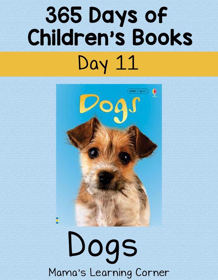 Children's Books - Dogs! Day 11 of 365 Days of Children's Books