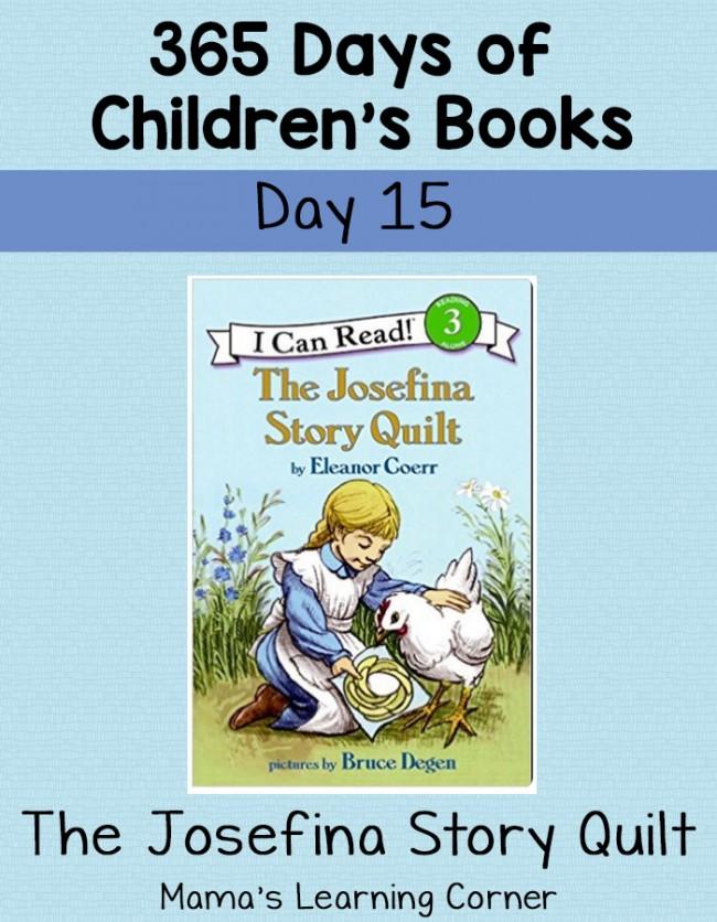 Children's Books - The Josefina Story Quilt