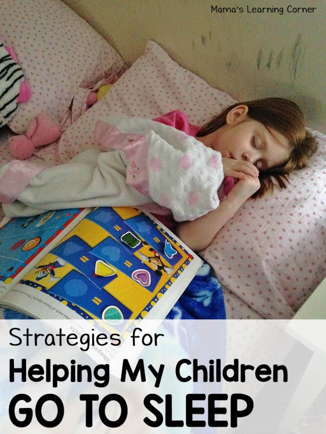 Strategies for Helping My Children Go To Sleep