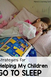 How I Help My Children Go to Sleep