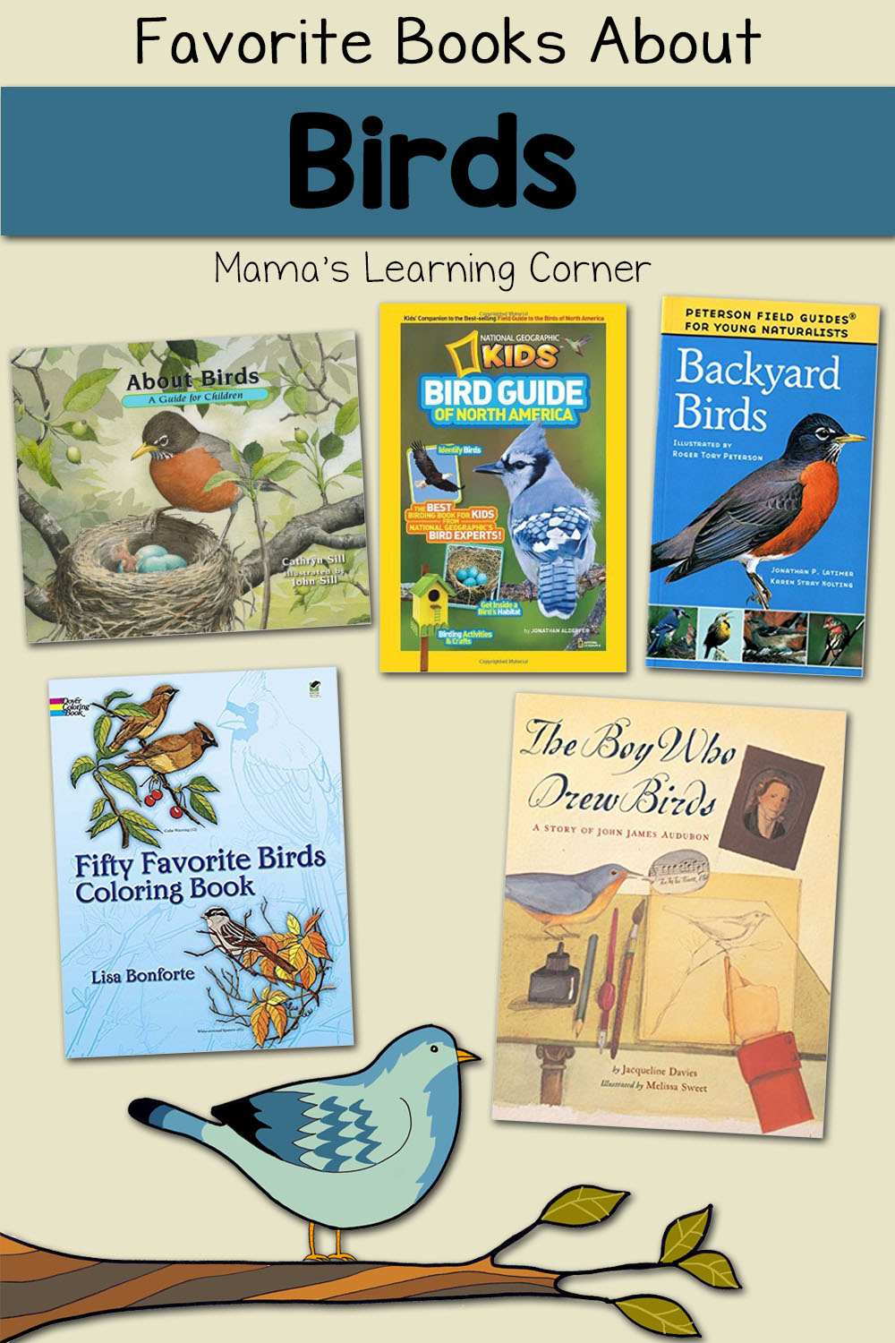 hight resolution of Favorite Books to Learn About Birds - Mamas Learning Corner