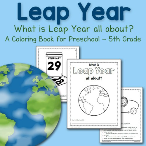 Leap Year Coloring Book