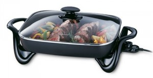 16 inch electric skillet
