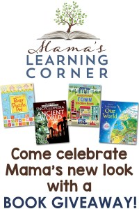 The Brand New Look at Mama's! {and a BIG BOOK giveaway!}