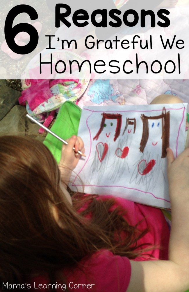 6 Reasons I'm Grateful We Homeschool