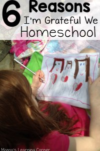 6 Reasons I'm Grateful We Homeschool