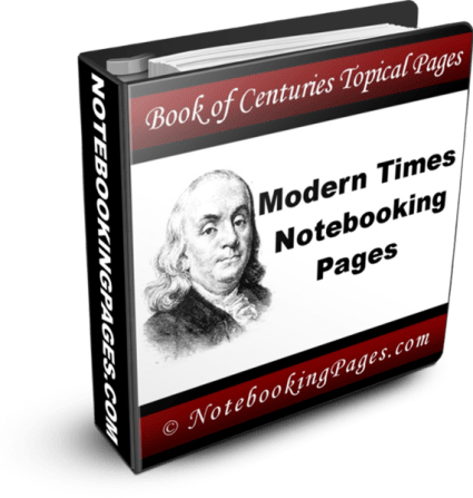 Benjamin Franklin Notebooking Pages