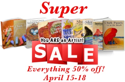 Super Spring Sale Chalk Pastels - Everything is 50% off!