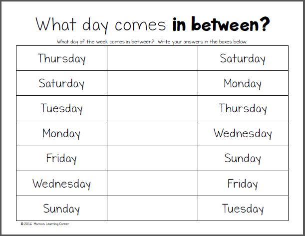 Printable Spanish Calendar Templates