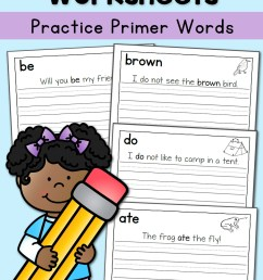 Handwriting Worksheets for Kids: Dolch First Grade Words - Mamas Learning  Corner [ 1500 x 1000 Pixel ]