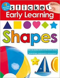 Early Learning Shapes Sticker Book
