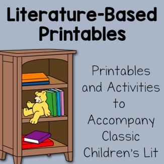 Literature-Based Printable Activities