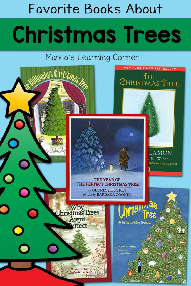 Favorite Books About Christmas Trees