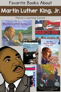 Favorite Books About Martin Luther King, Jr.