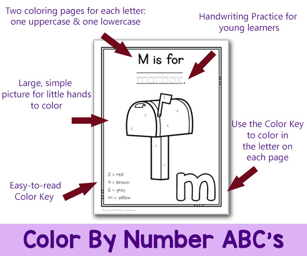 How to Use Color By Number ABC