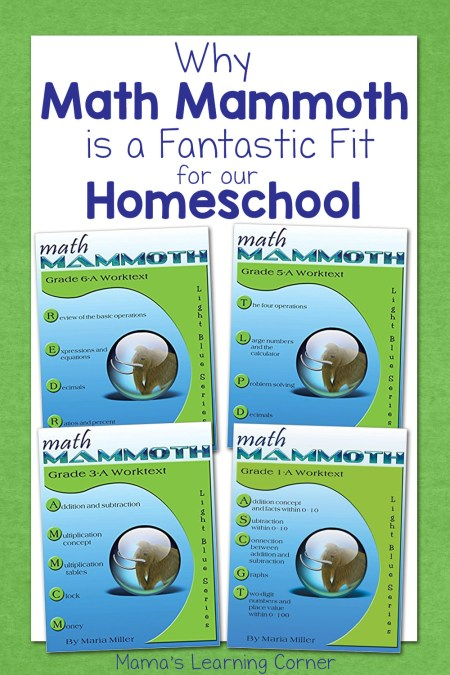 Why Math Mammoth is a Fantastic Fit for Our Homeschool