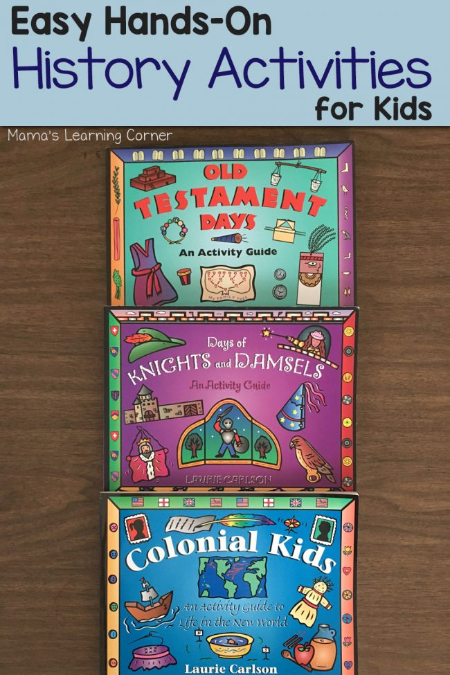 Easy Hands-On History Activities for Kids