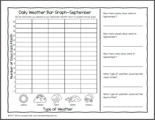 Kindergarten Calendar Notebook 2017-2018