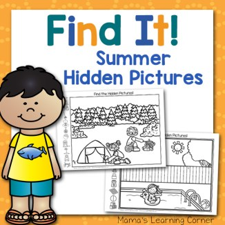 Summer Hidden Pictures