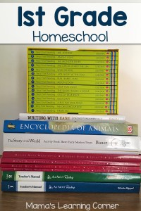First Grade Homeschool Curriculum Plans for 2017-2018
