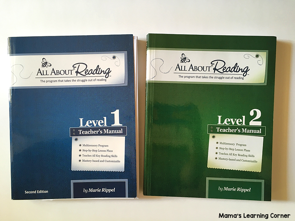All About Reading Levels 1 and 2