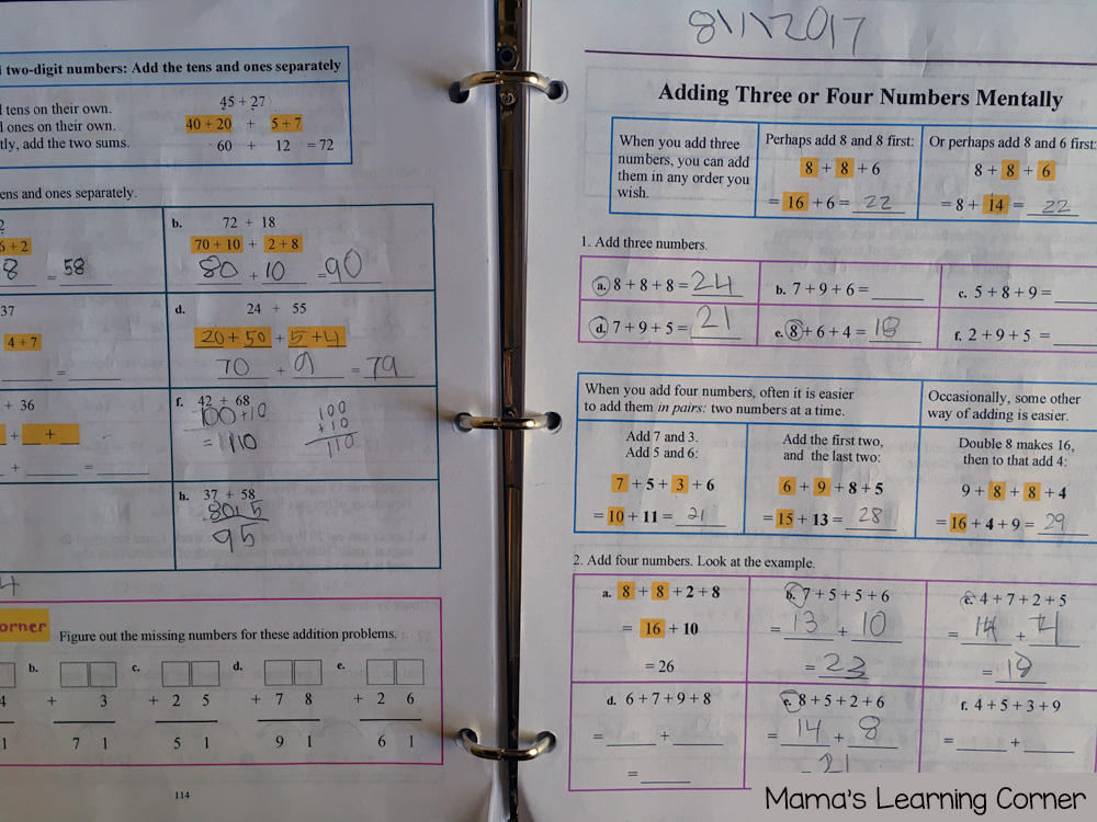 3rd Grade Homeschool Curriculum Math