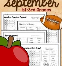 Apple Worksheets for Kindergarten-First Grade - Mamas Learning Corner [ 1500 x 1000 Pixel ]