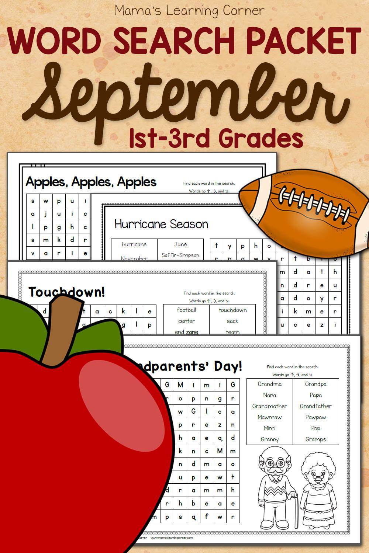 hight resolution of Apple Worksheets for Kindergarten-First Grade - Mamas Learning Corner