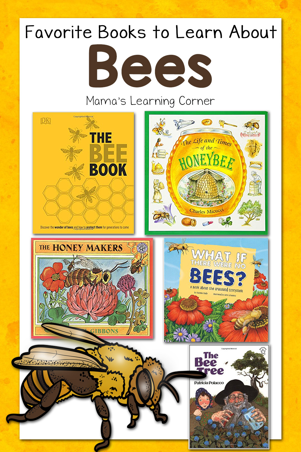 medium resolution of Our Favorite Books About Bees - Mamas Learning Corner