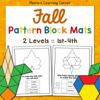 Fall Pattern Block Mats 2 Levels