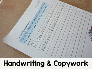 Handwriting and Copywork II All Access
