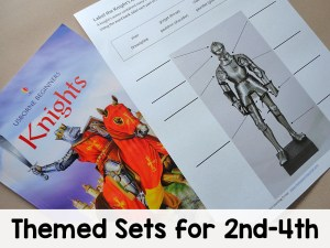 Themed Worksheets 2nd-4th All Access